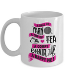 A Ball of Yarn Ceramic Mug (11oz)