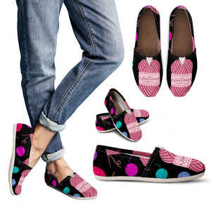 Women's Knitting Casual Shoes