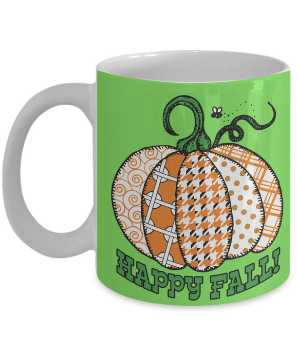 Happy Fall! Mug - Crafter4Life - 1