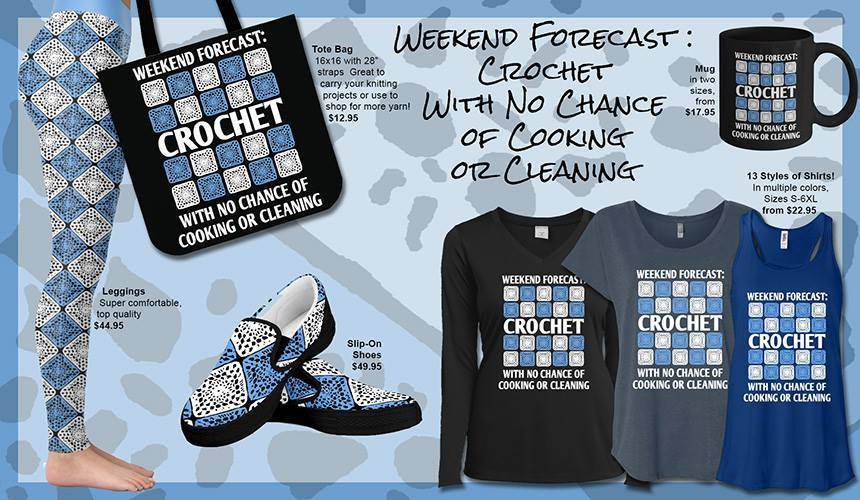 Click Here To Shop Our Weekend Forecast Crochet Collection