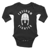 Freedom Fighter Long Sleeve Onesie