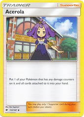 Acerola 112/147 Sun & Moon: Burning Shadows