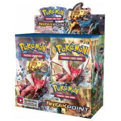 XY: Breakpoint Single Booster Packs - NEVER Weighed