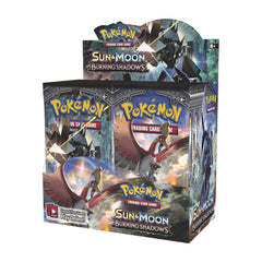 SUN & MOON: BURNING SHADOWS Sealed Booster Box