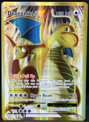 Dragonite EX 106/108 FULL ART Pokemon TCG : XY Evolutions