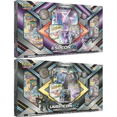 ESPEON-GX & UMBREON-GX Combo Box Premium Collection *Includes BOTH!