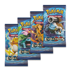 Single XY EVOLUTIONS Booster Packs - NEVER Weighed