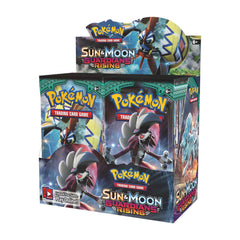 SUN & MOON : GUARDIANS RISING Booster Box (36 Packs) Sealed