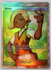 Ilima FULL ART 146/149 Sun & Moon