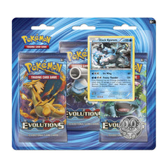Evolutions Braixen & Black Kyurem 3 Pack Blisters - Set Of 2 Brand New