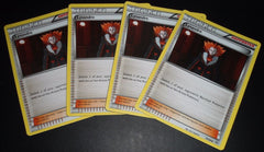 4x Lysandre 78/98 XY: Ancient Origins
