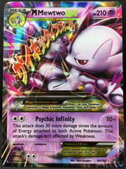 Mega M Mewtwo EX 64/162 Pokemon TCG : XY Breakthrough