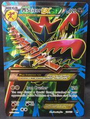 Mega M Scizor EX 120/122 FULL ART Pokemon TCG : XY Breakpoint