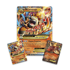 Pokémon TCG: Mega Camerupt-EX Premium Collection **AVAILABLW NOW