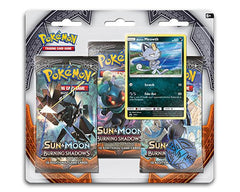 SUN & MOON: BURNING SHADOWS 3-Pack Blister with Promo (Meowth)