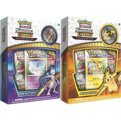 Shining Legends Pin Collection Set (MEWTWO & PIKACHU) **AVAILABLE NOW!!