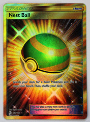 Nest Ball SECRET RARE 158/149 Sun & Moon