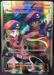 Pokemon Ranger 113/114 FULL ART Pokemon TCG : XY Steam Siege