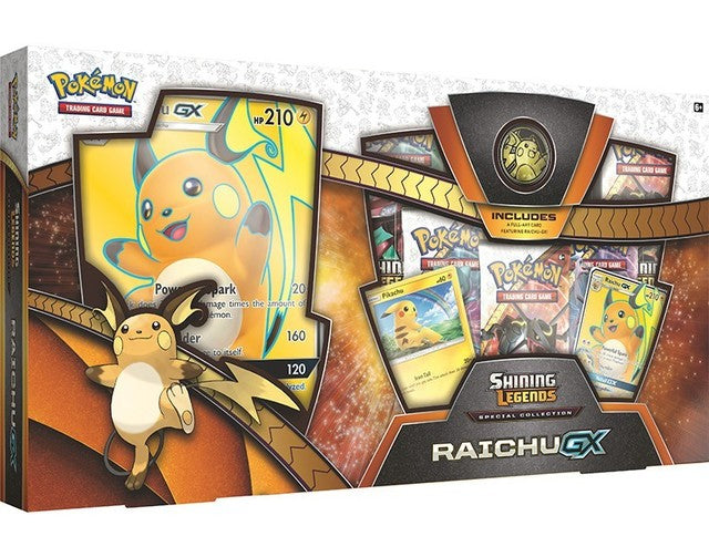 Pokemon TCG Shining Legends RAICHU GX Collection **NEW