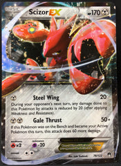 Scizor EX 76/122 Pokemon TCG : XY Breakpoint
