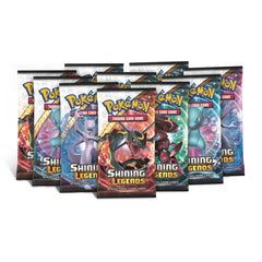 SHINING LEGENDS Pokemon TCG Booster Packs - NEVER Weighed