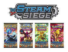 Single Steam Seige Booster Packs - NEVER Weighed