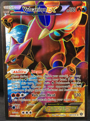 Volcanion EX 107/114 FULL ART Pokemon TCG : XY Steam Siege