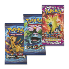 Evolutions 3-Pack Blister with Mega Blastoise & Mega Venusaur Pin - Set Of 2 Brand New