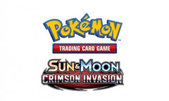 Pokemon TCG : S&M CRIMSON INVASION Sealed Booster Box **NEW