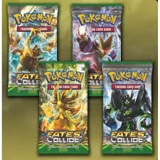 Single Fates Collide Booster Packs - NEVER Weighed