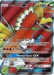 Ho-Oh 131/147 Full Art Sun & Moon Burning Shadows