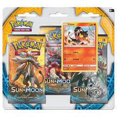Sun & Moon 3-Pack Blister with Litten Promo