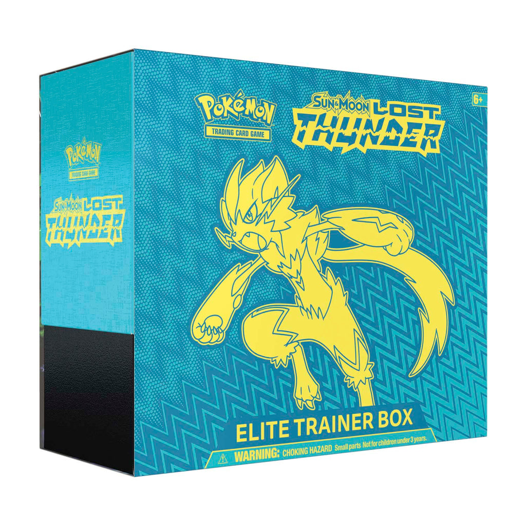 Pokemon TCG: S&M Lost Thunder (SM8) Elite Trainer Box**SHIPS NOW!!