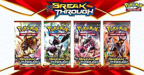 1/4 of a BREAKthrough Booster Box (9 Packs) ** NEVER WEIGHED