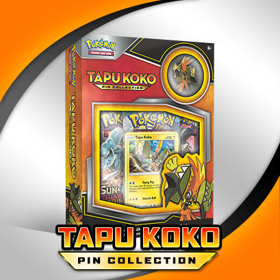 Tapu Koko Pin Collection **AVAILABLE NOW