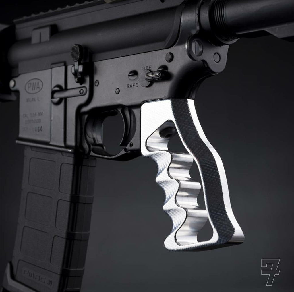 AR-15 MJOLNIR Skeletonized Grip