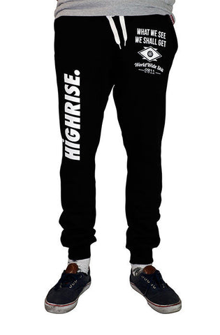 Go Getter Jogger Sweatpants(Black)