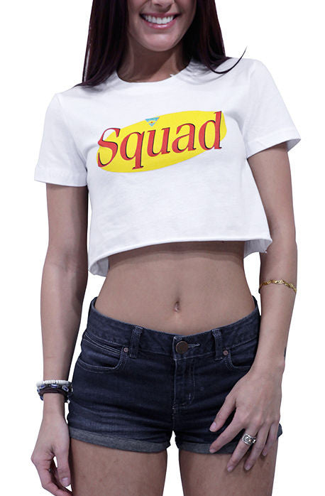 Squad Crop Top