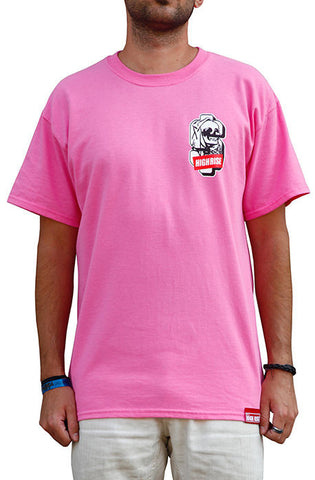 Hustle Till Death T-Shirt (Pink)