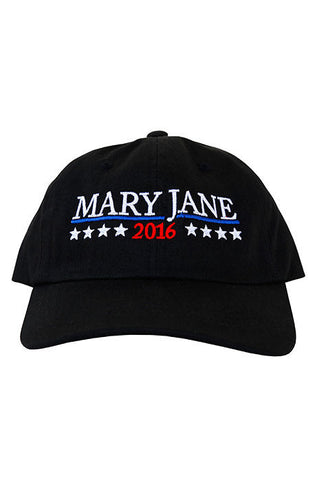 Mary Jane Dad Hat(black)