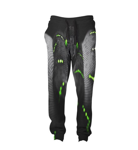 Black Anaconda Joggers