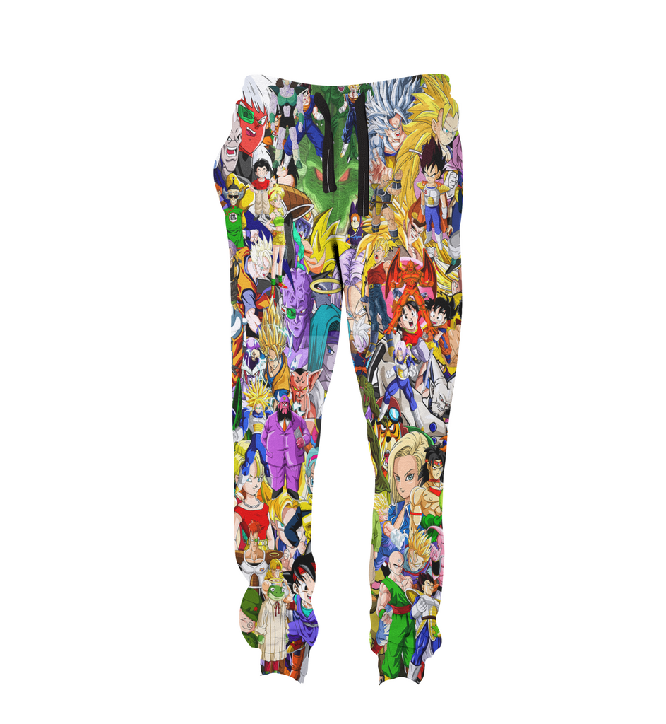 DBZ Collage Joggers