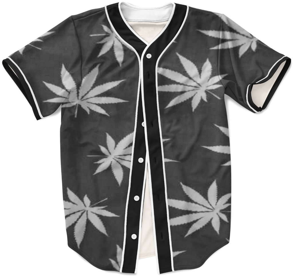 Faded Marijuana Leaves Jersey