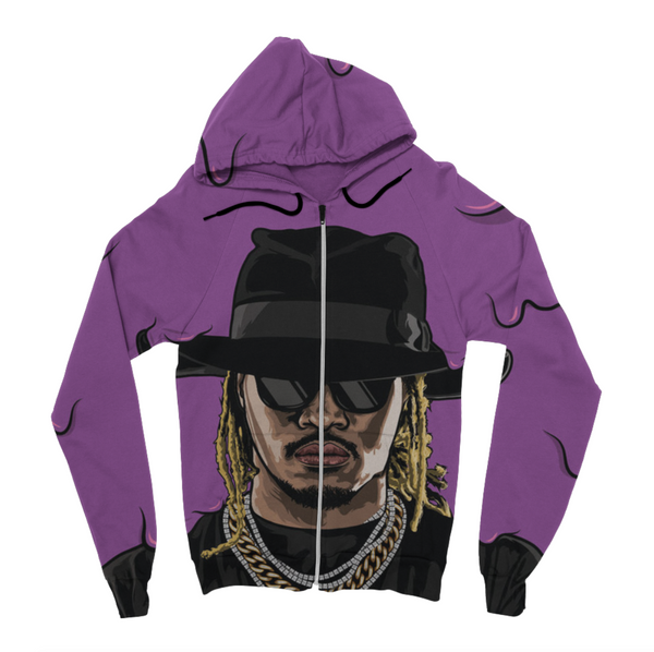 Future Dirty Sprite Zip Up Hoodie