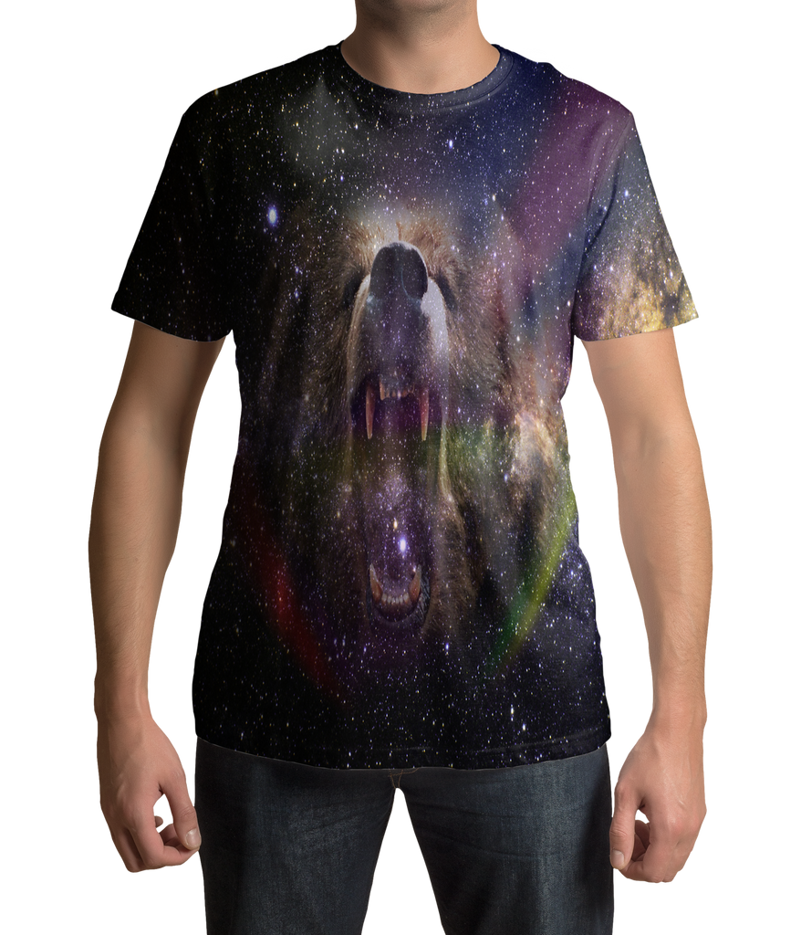 Bear Galaxy T Shirt