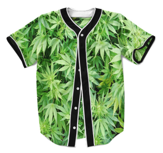 Marijuana Leaves Jersey