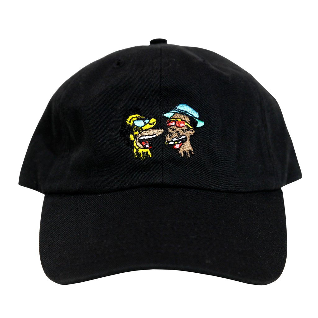 Fear and Loathing Dad Hat (black)