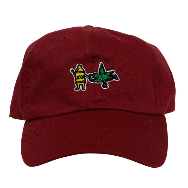 BFF Dad Hat (maroon)
