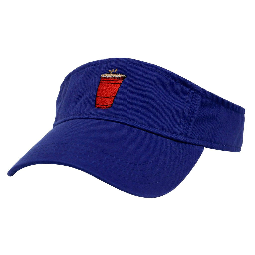 Party Cup Visor (blue)