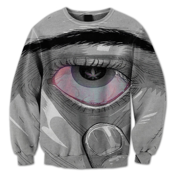 Marijuana Eyes Crewneck